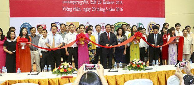 Triển lãm giáo dục đại học Việt Nam tại Lào lần thứ nhất
