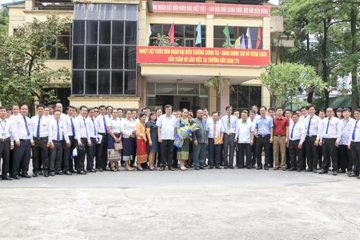 Trường Hữu Nghị T78 tiếp và làm việc với  Đoàn đại biểu Trường Chính trị – Hành chính thủ đô Viêng Chăn