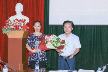 Lễ công bố và trao Quyết định bổ nhiệm Phó Trưởng phòng Quản lý Học sinh – Sinh viên trường Hữu Nghị T78