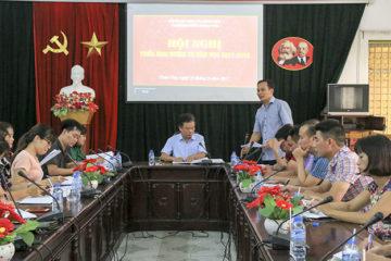 Hội nghị triển khai kế hoạch thực hiện nhiệm vụ năm học 2017 – 2018