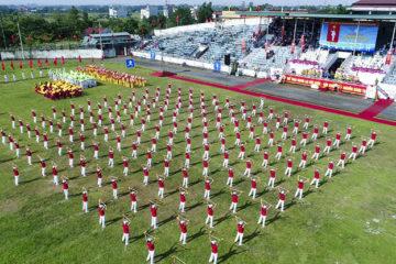 Khai mạc Đại hội TDTT huyện Phúc Thọ lần thứ 9 năm 2017