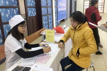 Chương trình tư vấn sức khỏe và sàng lọc phát hiện sớm ung thư cho cán bộ công chức viên chức trường Hữu Nghị T78
