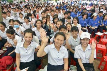 Học sinh trường Hữu Nghị T78 tham dự Ngày hội tư vấn tuyển sinh – hướng nghiệp  năm 2018