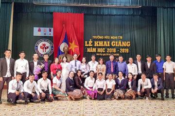 Lễ Khai giảng năm học 2018-2019 khối Dự bị tiếng Việt