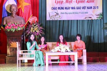 Gặp mặt, giao lưu kỷ niệm 36 năm Ngày Nhà giáo Việt Nam (20/11/1982 – 20/11/2018)