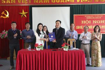 Hội nghị cán bộ, công chức, viên chức và người lao động năm 2018 của Trường Hữu Nghị T78 thành công tốt đẹp