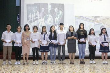 Tổng kết và trao giải Cuộc thi Tìm kiếm ý tưởng khoa học, kỹ thuật cấp trường cho học sinh trung học năm học 2018-2019