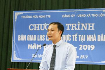 Trường Hữu Nghị T78 thực hiện chương trình đưa Lưu học sinh Lào đi thực tế tại nhà dân năm thứ 5