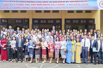 """Những """"đại sứ"""" vun đắp tình hữu nghị Việt – Lào"""
