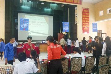 Trường Hữu Nghị T78 tổ chức đón tiếp các em học sinh khối 10 niên khóa 2019 – 2022