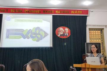Trường Hữu Nghị T78 tổ chức tập huấn chuyên môn cho giáo viên khối Tiếng Việt