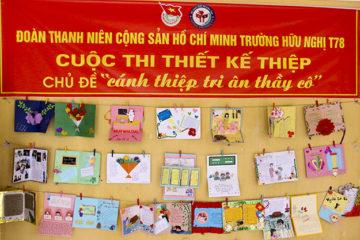 Đoàn Thanh niên trường Hữu nghị T78 thiết thực chào mừng kỷ niệm 37 năm ngày nhà giáo Việt Nam