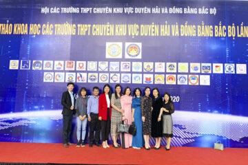Trường Hữu Nghị T78 tham dự Hội thảo khoa học các trường THPT chuyên khu vực Duyên hải và Đồng bằng Bắc bộ lần thứ XIII